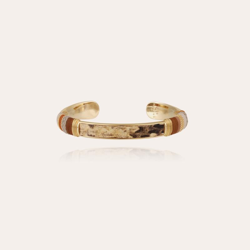 Massai Bis bracelet gold
