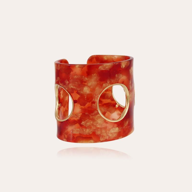 Padova bracelet acetate gold - Amber - Exclusive piece (4 pieces)
