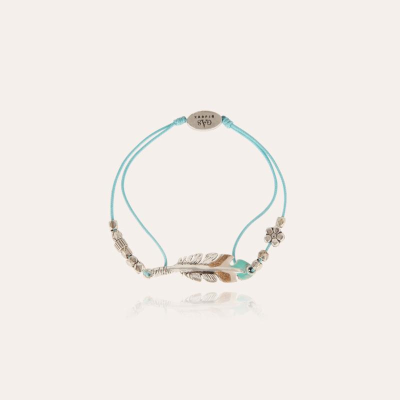 Penna enamel kids bracelet silver