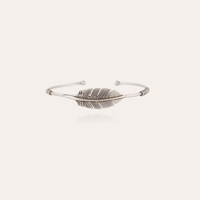 Penna bangle bracelet silver