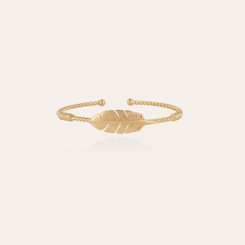 Penna bangle bracelet gold
