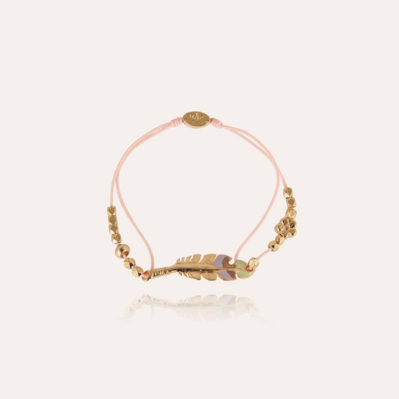 Penna enamel kids bracelet gold
