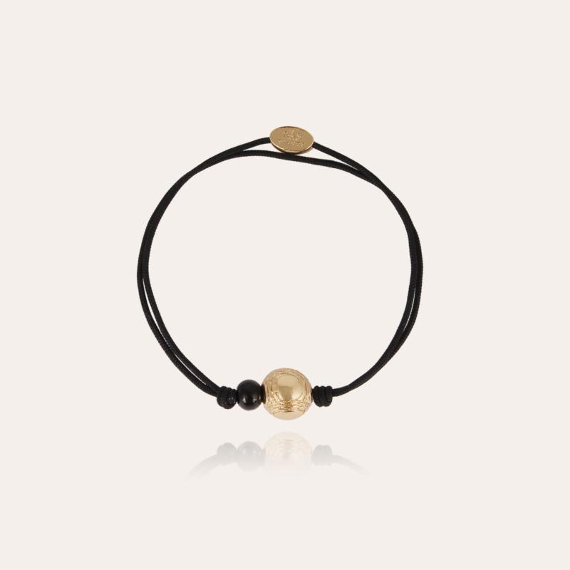 Petanque men bracelet gold