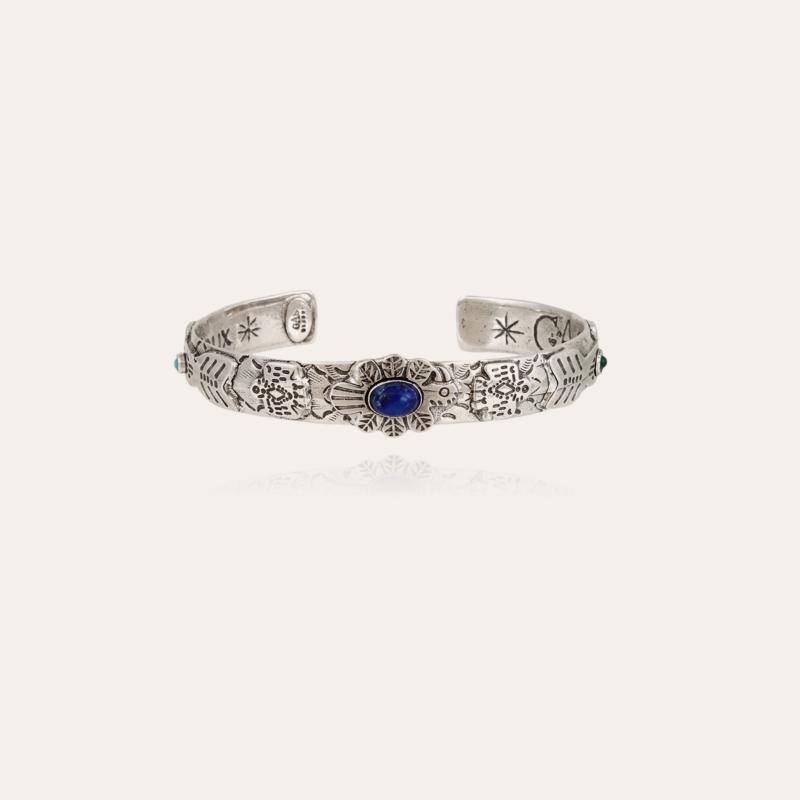 Santa Fe bangle bracelet silver