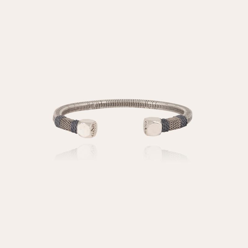 Sari men bracelet silver