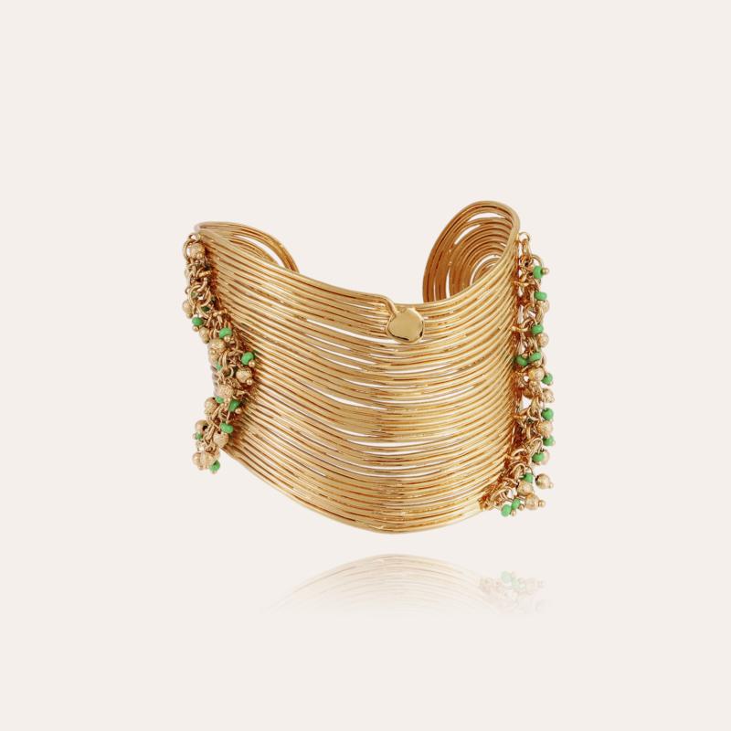 Wave tassel bracelet gold - Exclusive piece (4 pieces)