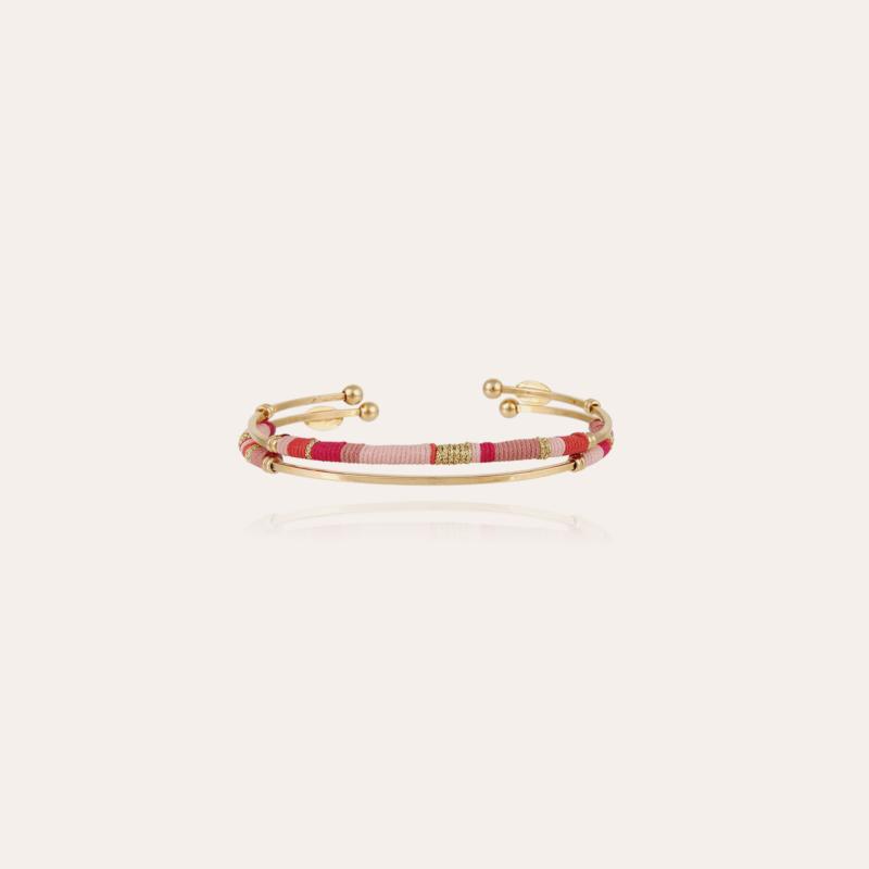 2 Zanzibar kids bracelets gold