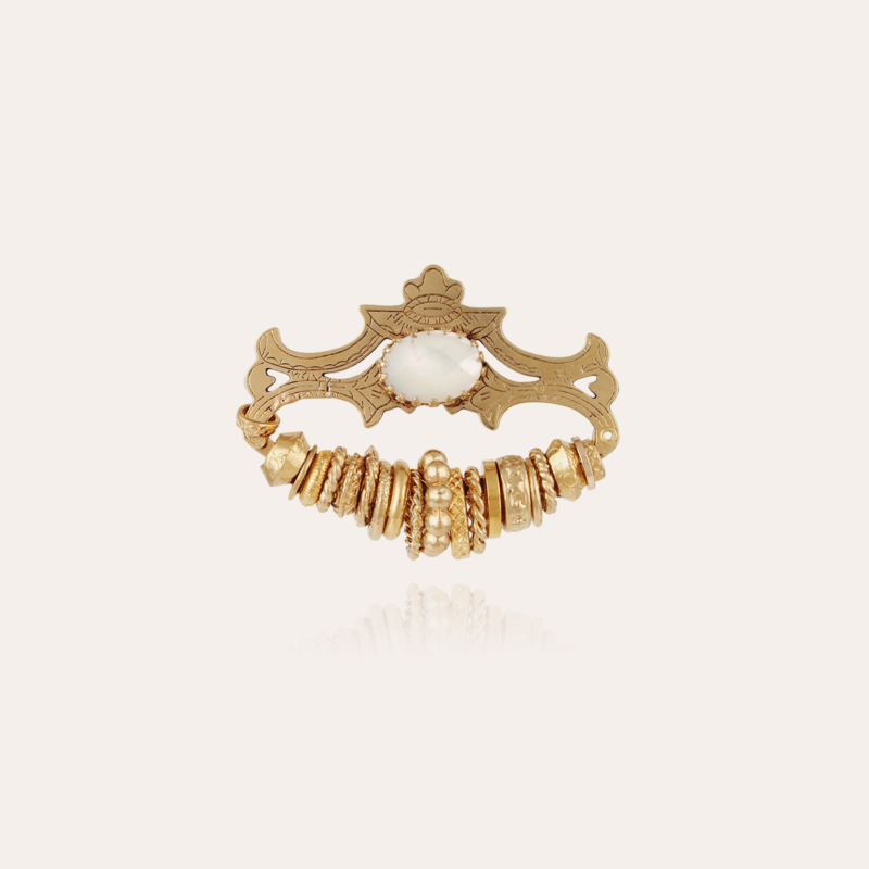 Bagues brooch small size gold - Exclusive piece (3 pieces)
