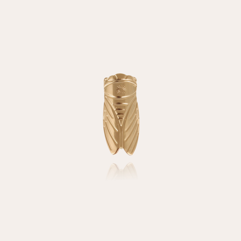 Cigale brooch gold