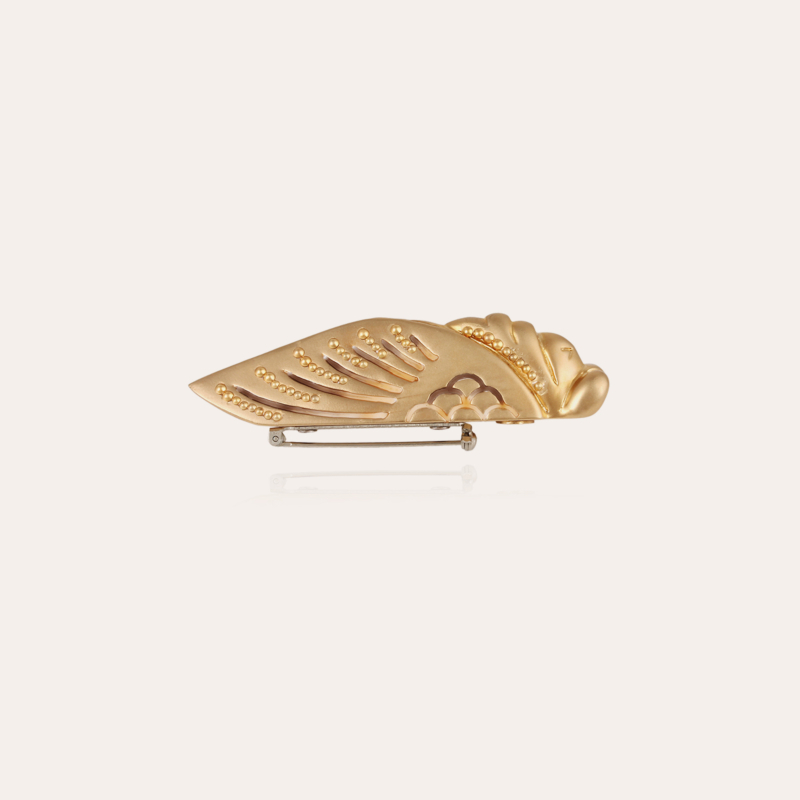 Cigale broach gold - Exclusive piece (2 pièces)