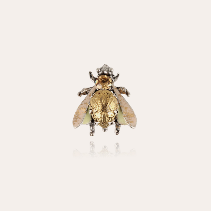 Mouche brooch silver - Exclusive piece (3 pieces)