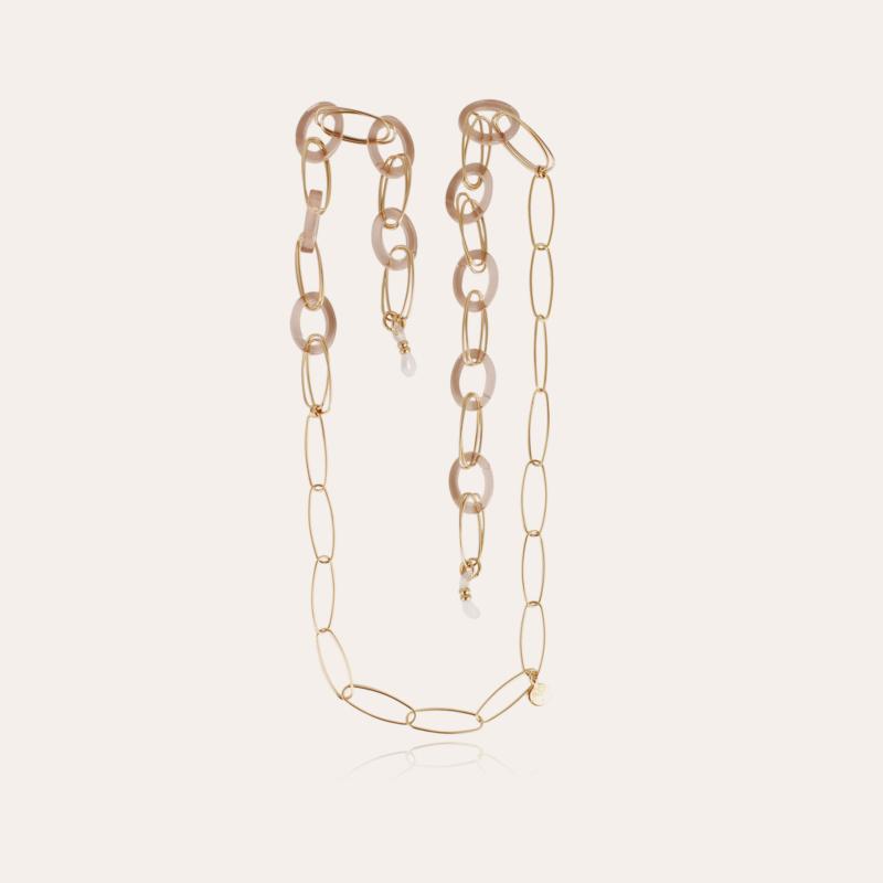 Escale necklace Glasses Chain small size gold