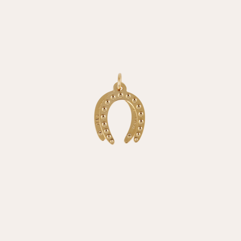 Horse shoe Charms Constantine gold