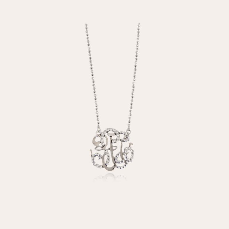 Arabesque necklace small size silver