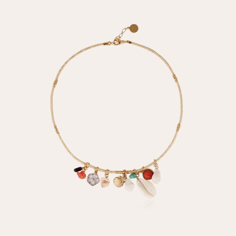 Bellagio Bis necklace gold