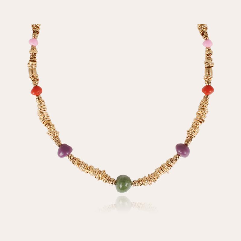 Biba necklace acetate gold
