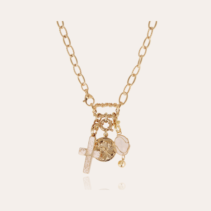 Constantine necklace gold - Exclusive piece (2 pieces)