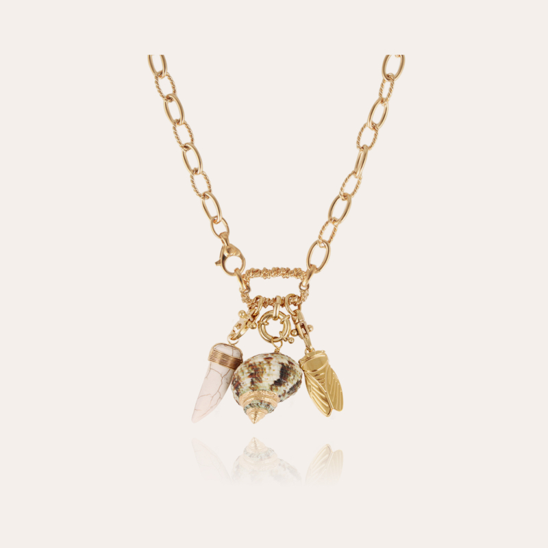 Constantine necklace gold - Exclusive piece (4 pieces)