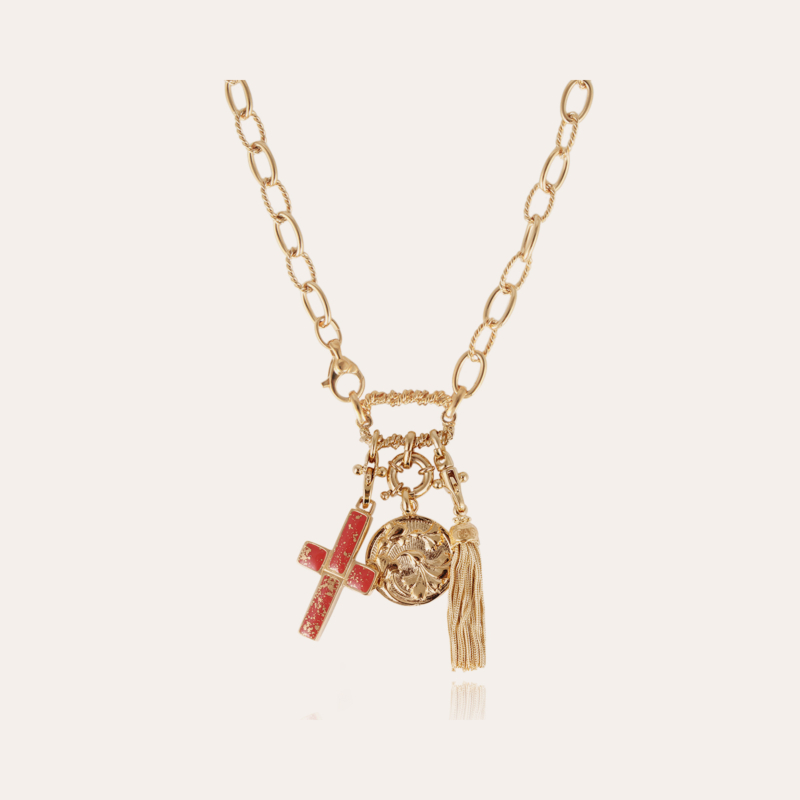 Constantine necklace gold - One-of-a-kind piece