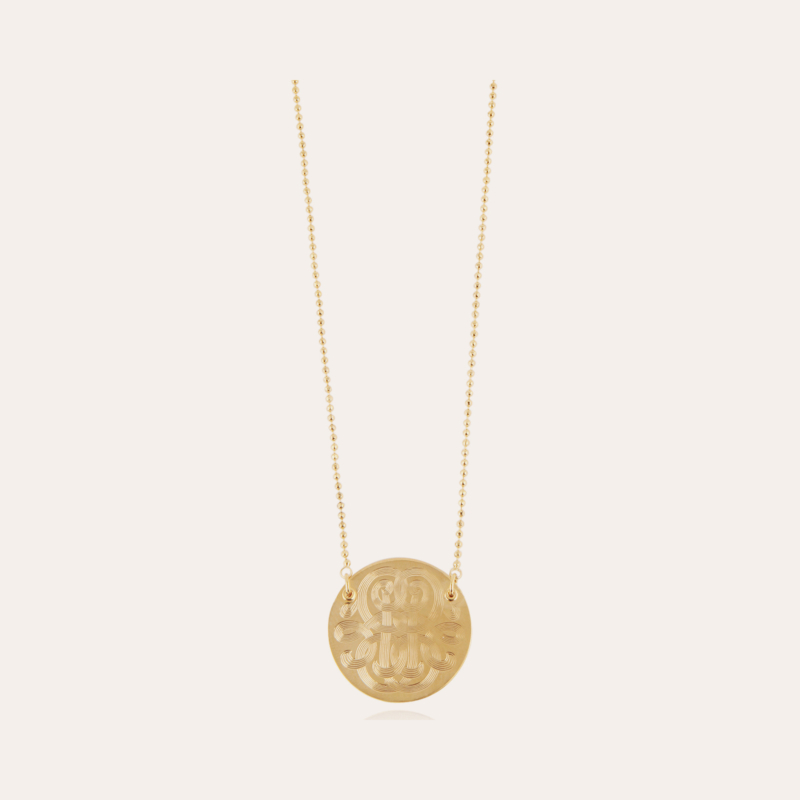 Diva necklace small size gold