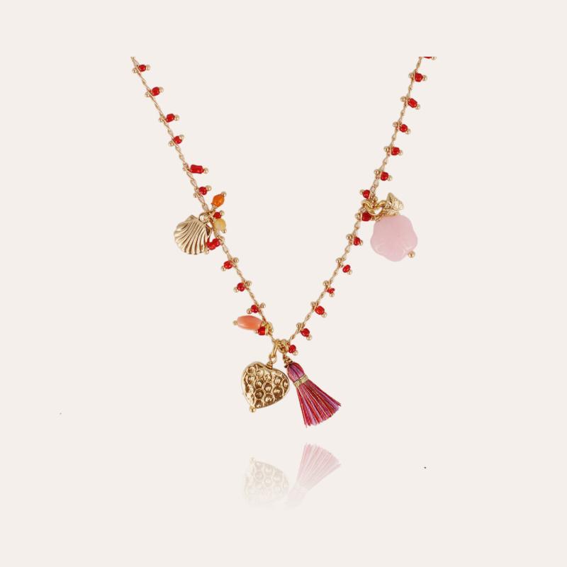 Gipsy Charms kids necklace gold