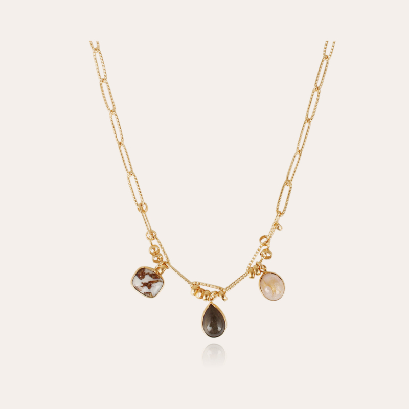 Honore necklace gold