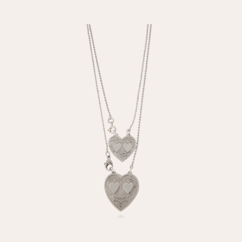 Scapulaire Gilot necklace small size silver