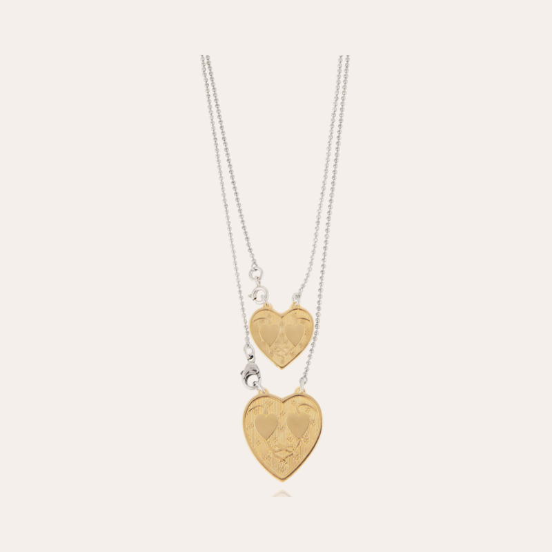 Gilot Scapulaire necklace small size bicolor