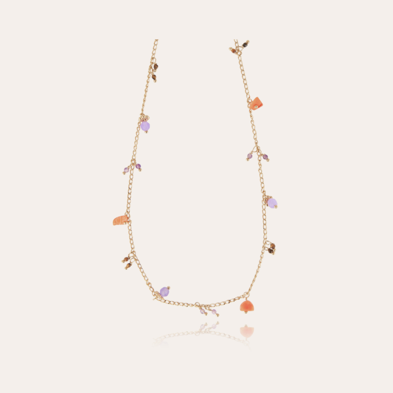 Tangerine Serti necklace gold