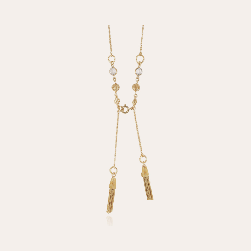 Tresse necklace gold