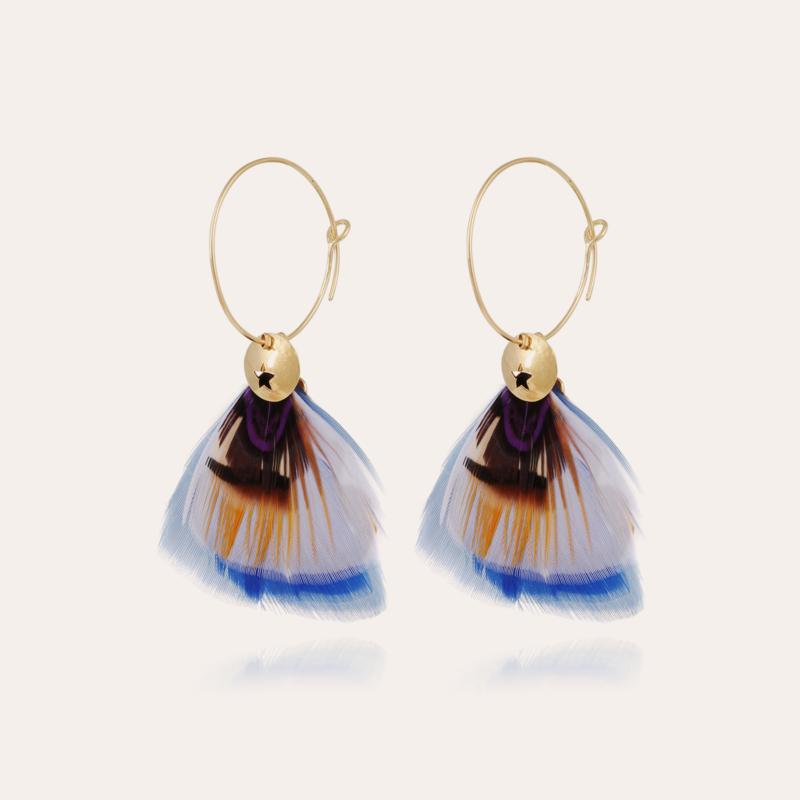 Bermudes hoop earrings gold