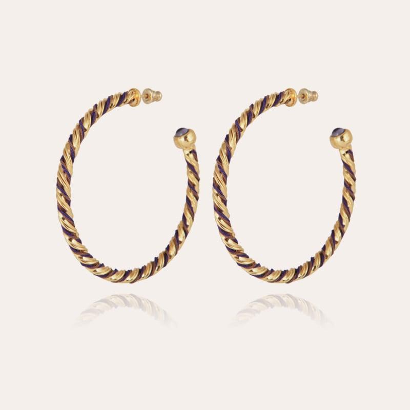 Torride hoop earrings large size gold
