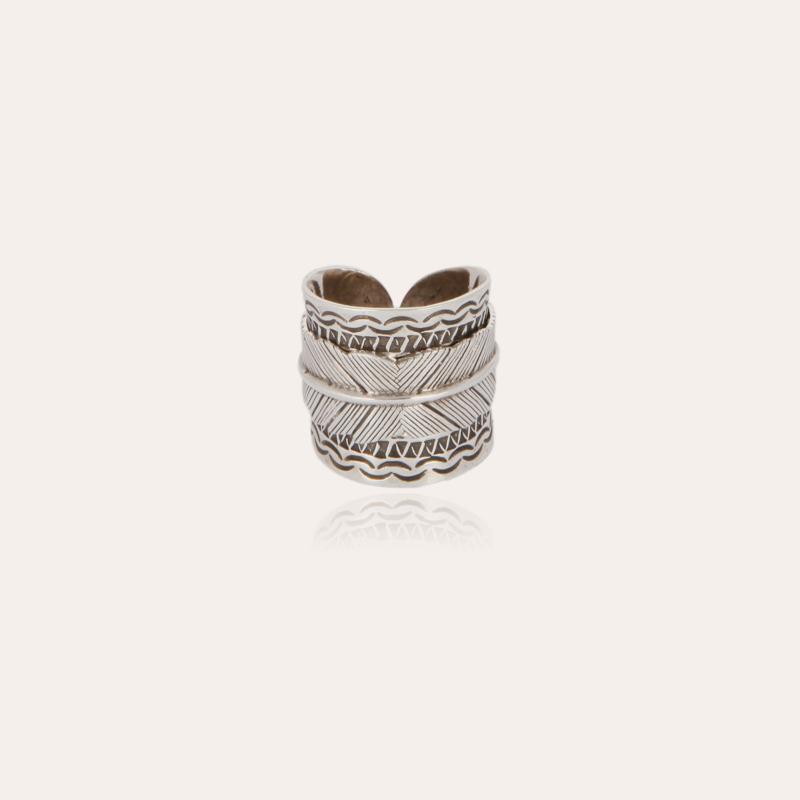 Cancun Penna ring silver