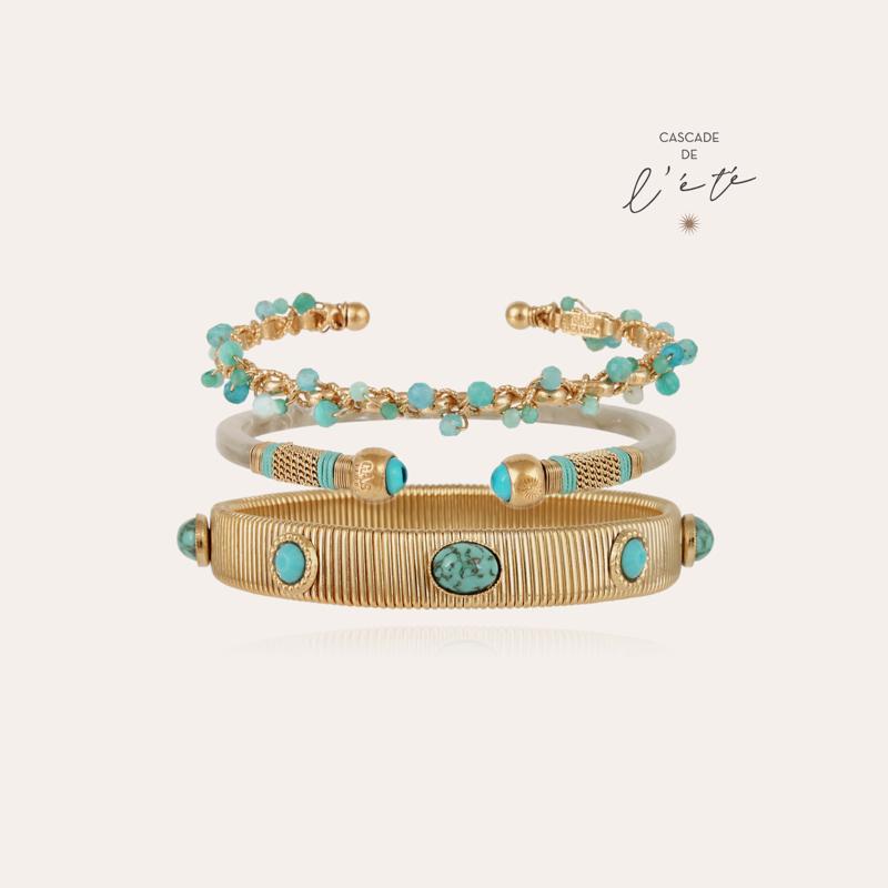 Summer bracelets - Orphée, Sari & Strada gold