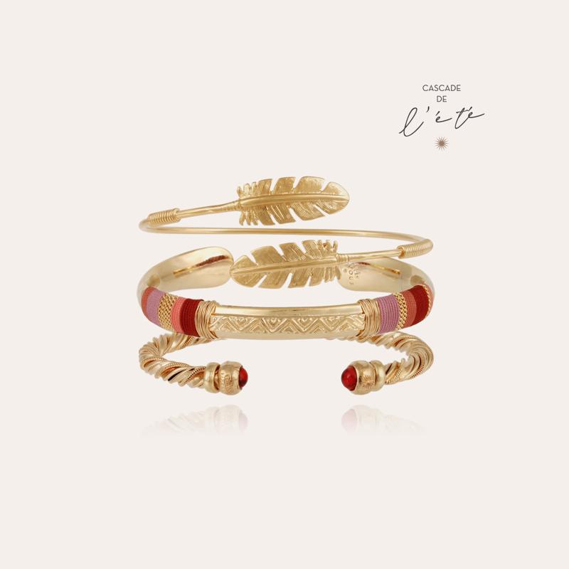 Summer bracelets - Massai, Penna & Torride gold