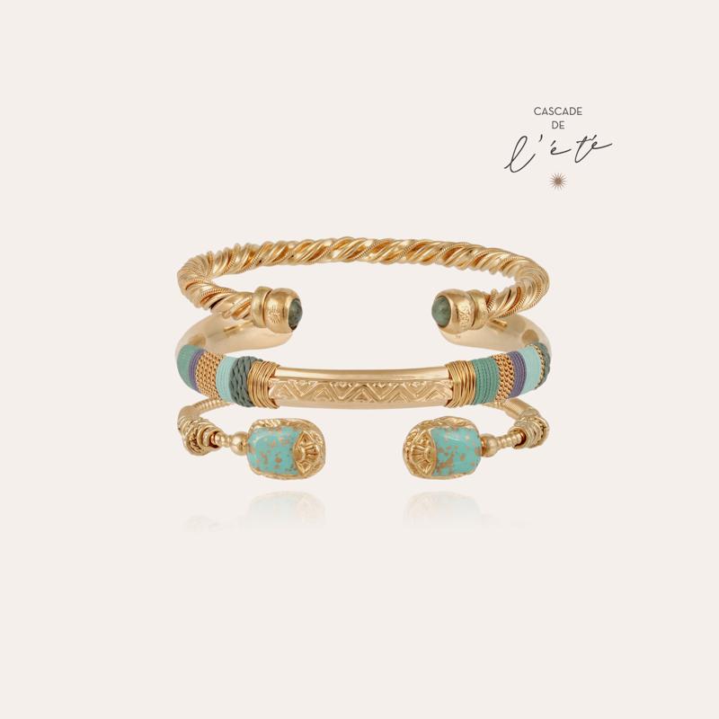 Summer bracelets - Scaramouche, Torride & Massai gold