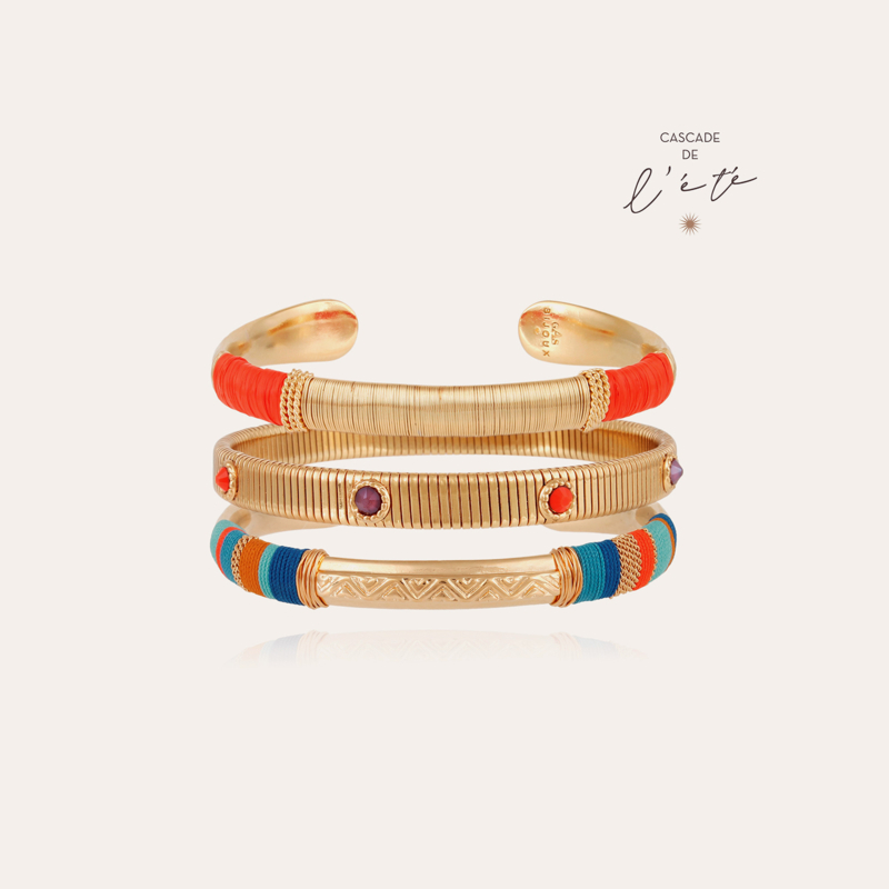 Summer bracelets - Massai, Stradi & Macao gold