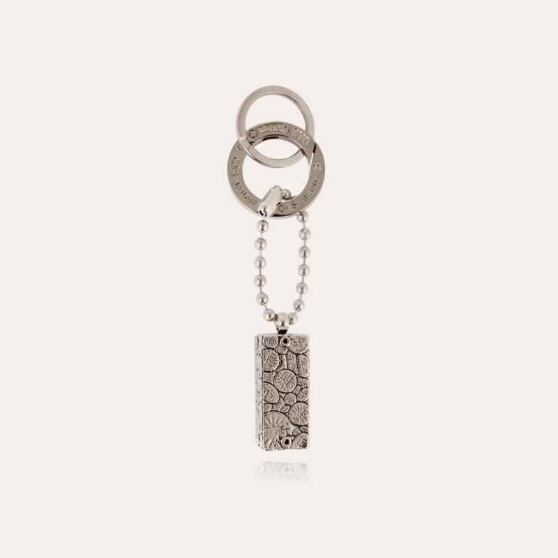 Cage Bozart key ring silver