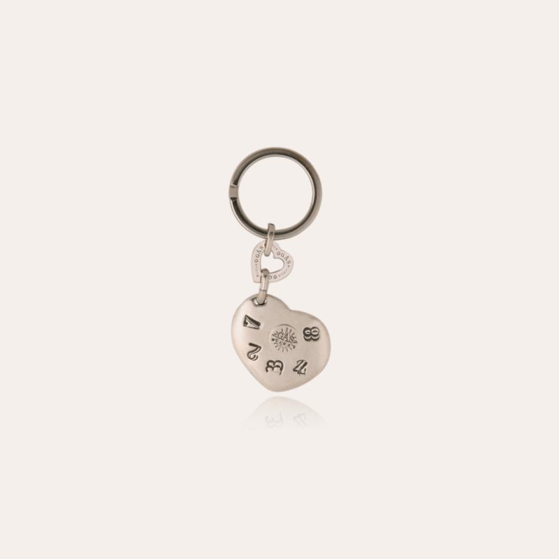 Lili key ring silver