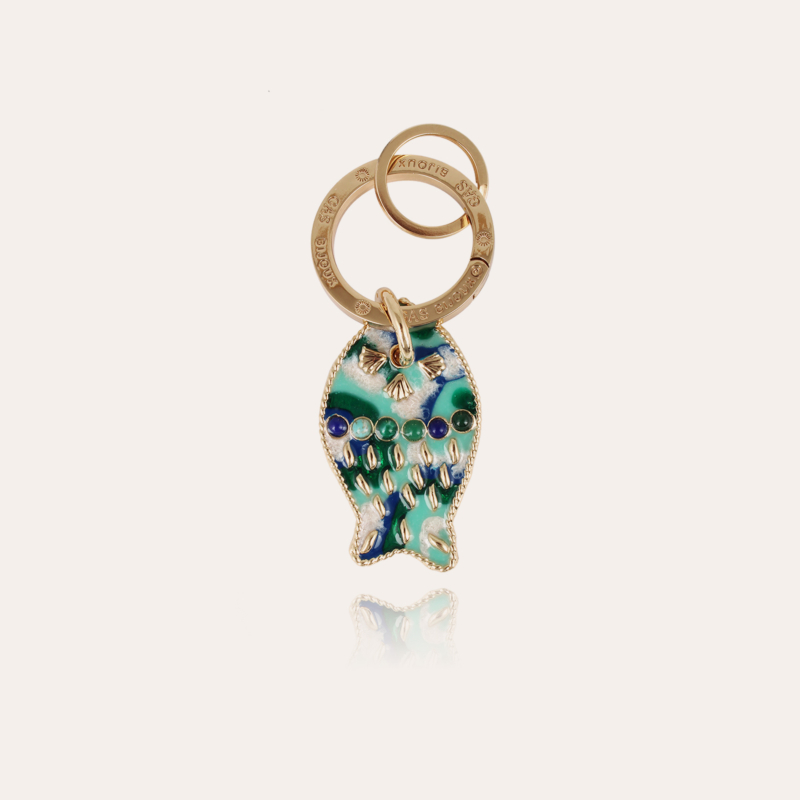 Nemo key ring gold - One-of-a-kind piece