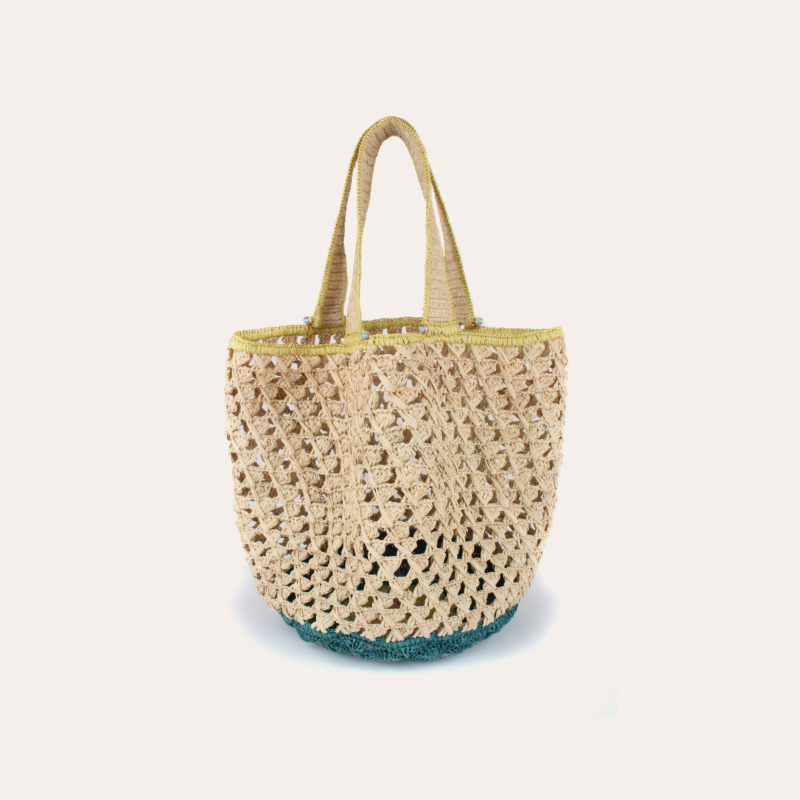 Cabas XL bag raffia