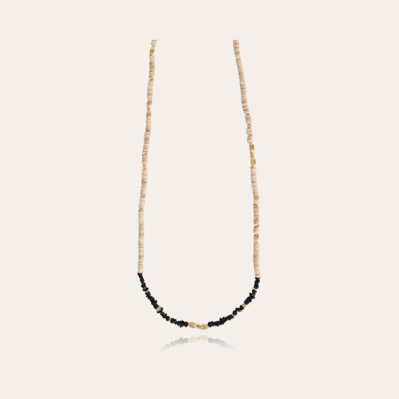 Aloha long necklace small size gold