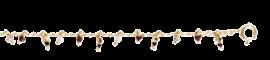 Pondicherie chain gold - Bordeaux