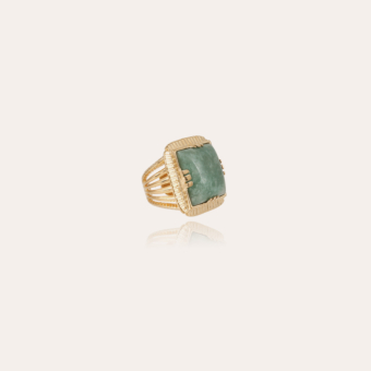 Arty Chevaliere ring gold - Amazonite