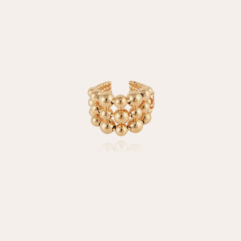 Multiperla ring gold