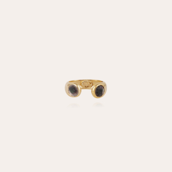 Saint Germain ring gold