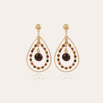 Aurore Serti earrings mini gold