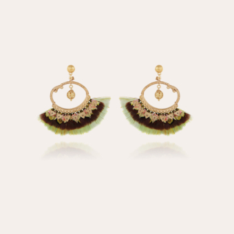Bayos earrings gold - Exclusive piece (2 pieces)