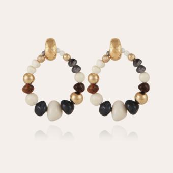 Biba Bis earrings acetate gold