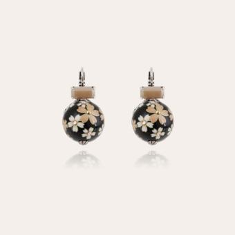 Décalco earrings silver